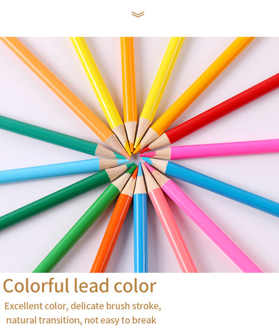 High Quality Basswood Colored Pencils Set - 12 Color