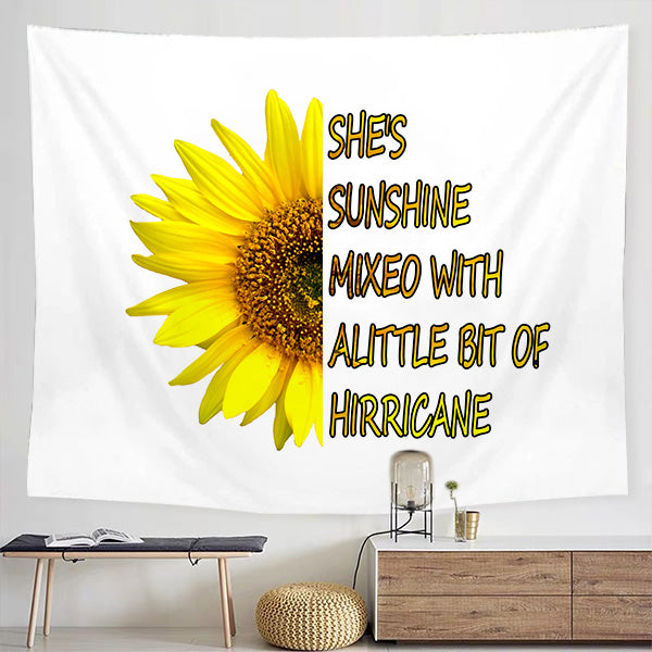 Sunflower Tapestry - BlingPainting