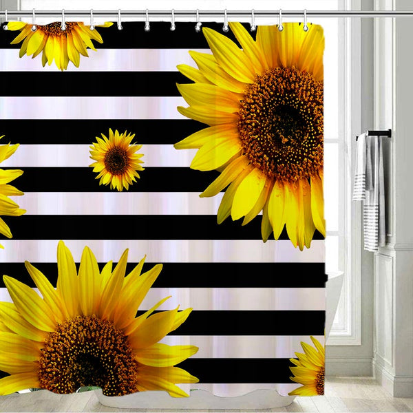Sunflower Shower Curtains - BlingPainting
