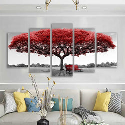 5 Pieces HD Multi Panel Wall Art  Canvas Painting - Wall Picture Canvas Prints