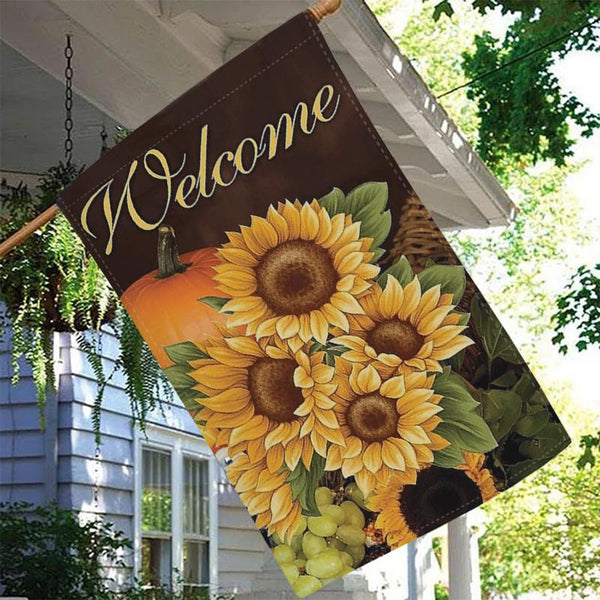 Thanksgiving Garden Flag - BlingPainting