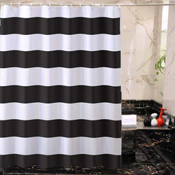 Black and White Shower Curtains - BlingPainting