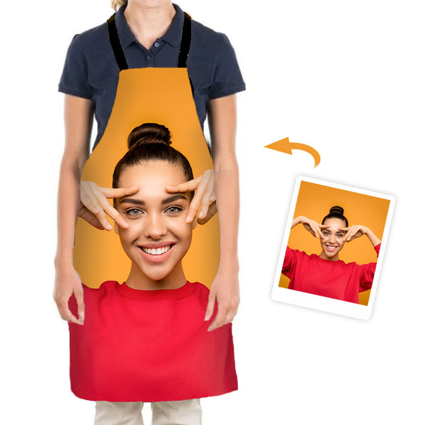 Custom Apron with Your Photo - Create your own Apron - BlingPainting