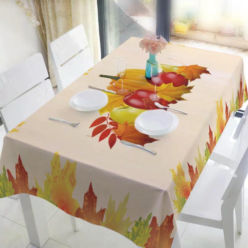 Fall Harvest Thanksgiving Tablecloth H - BlingPainting