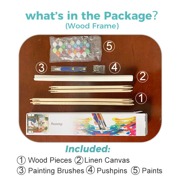 Paint by Numbers Kit for Kids -  Naughty Zebra - BlingPainting