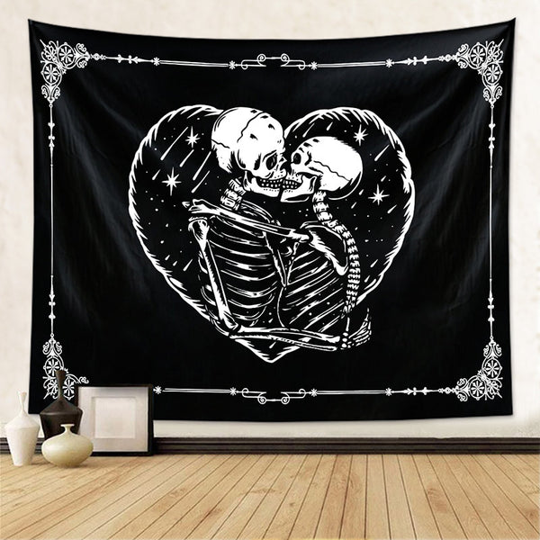Skull Tapestry Wall Hanging