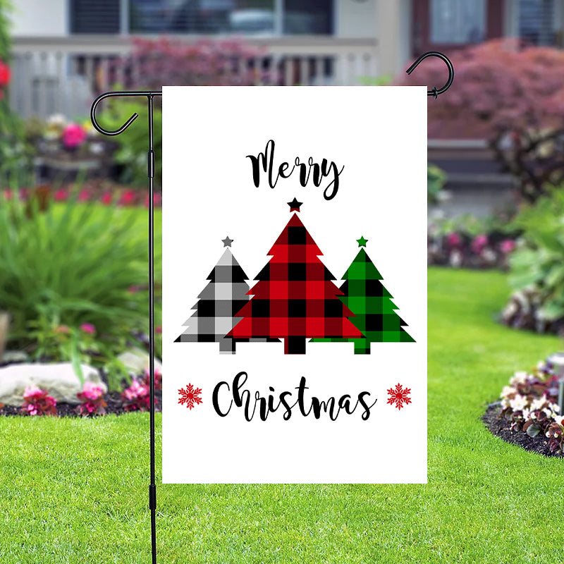 Christmas Red Truck Garden Flag/House Flag