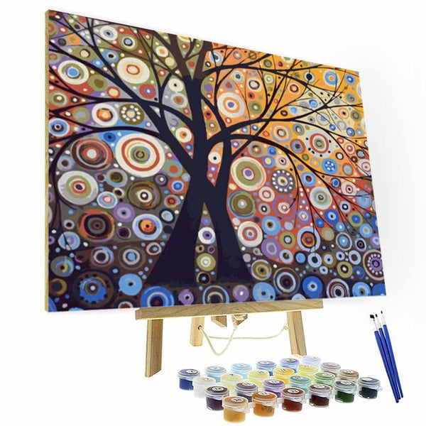 Paint by Numbers Kit - Glare tree - BlingPainting