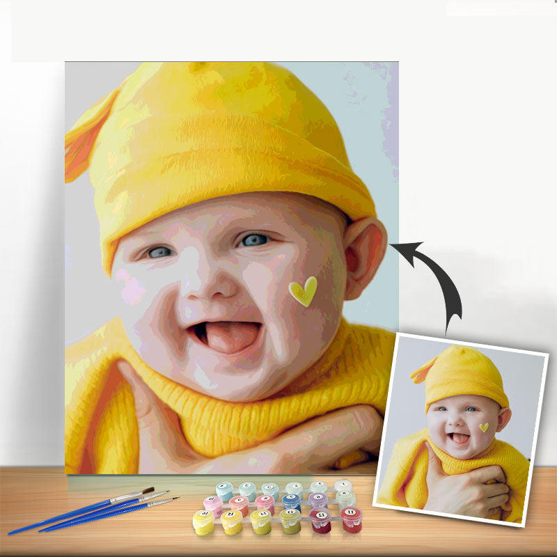 Paint by Number Kit - Customized Oil painting For Your Love - BlingPainting