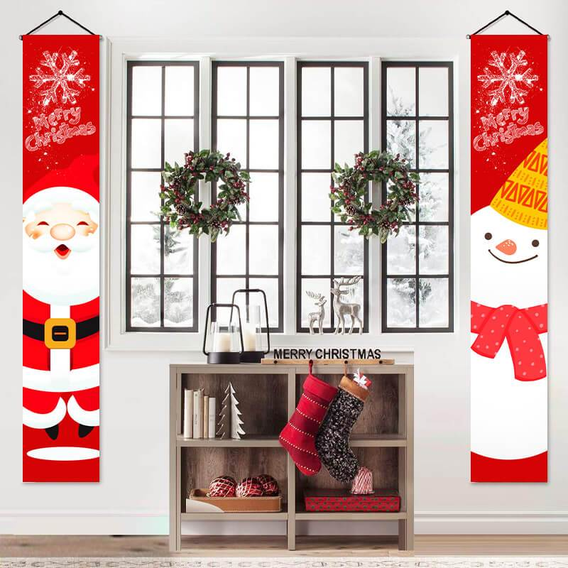 Christmas Home Door Decor Banner
