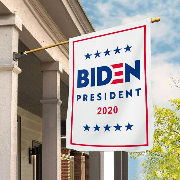 Joe Biden for President 2020 Garden Flag House Flag B