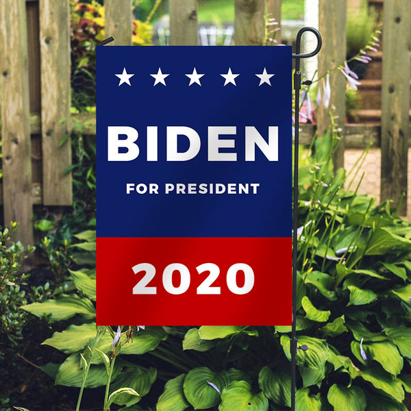 Joe Biden for President 2020 Garden Flag House Flag J