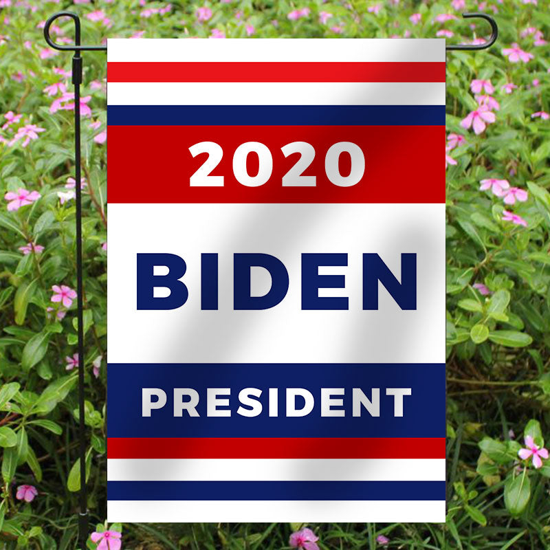 Joe Biden for President 2020 Garden Flag House Flag K - BlingPainting