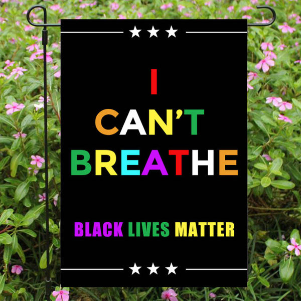 Black Lives Matter Garden Flag/House Flag K