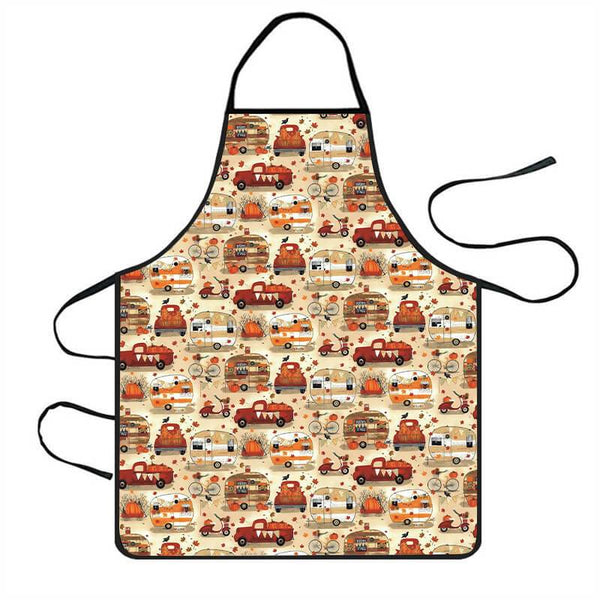 Funny Thanksgiving Apron L - BlingPainting