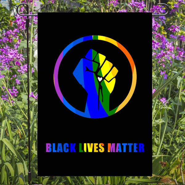 Black Lives Matter Garden Flag/House Flag L