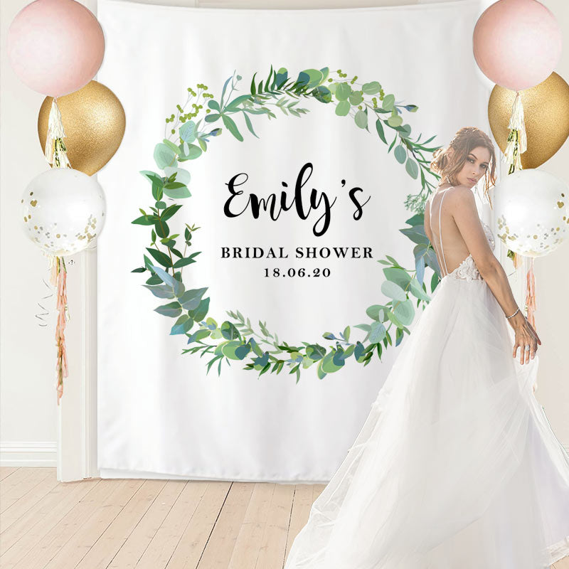 Custom Bridal Shower Backdrop