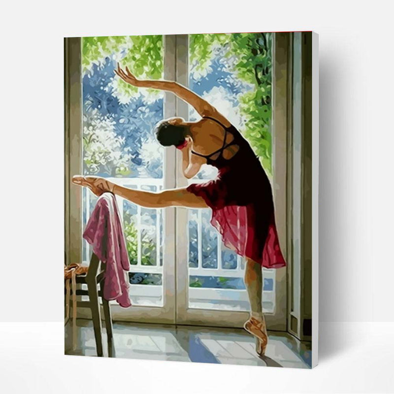 Paint by Numbers Kit - Sunlight Ballet - BlingPainting