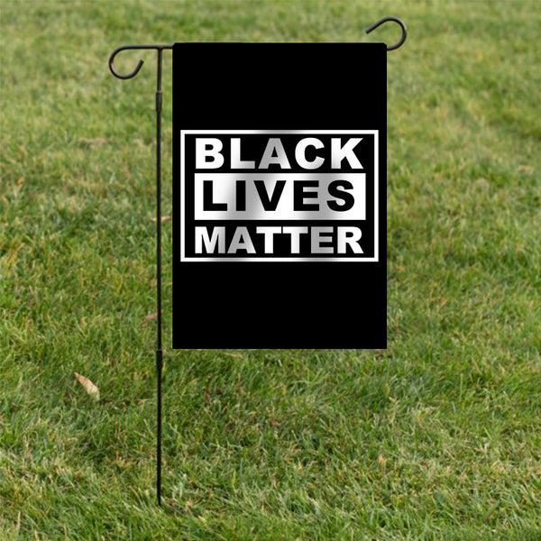 Black Lives Matter Garden Flag/House Flag - BlingPainting