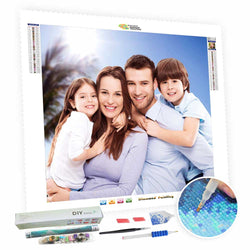 Diamond Art Kits - Personalized Photo Gifts For Family - BlingPainting