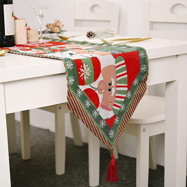 Christmas Garland Table Runner - BlingPainting