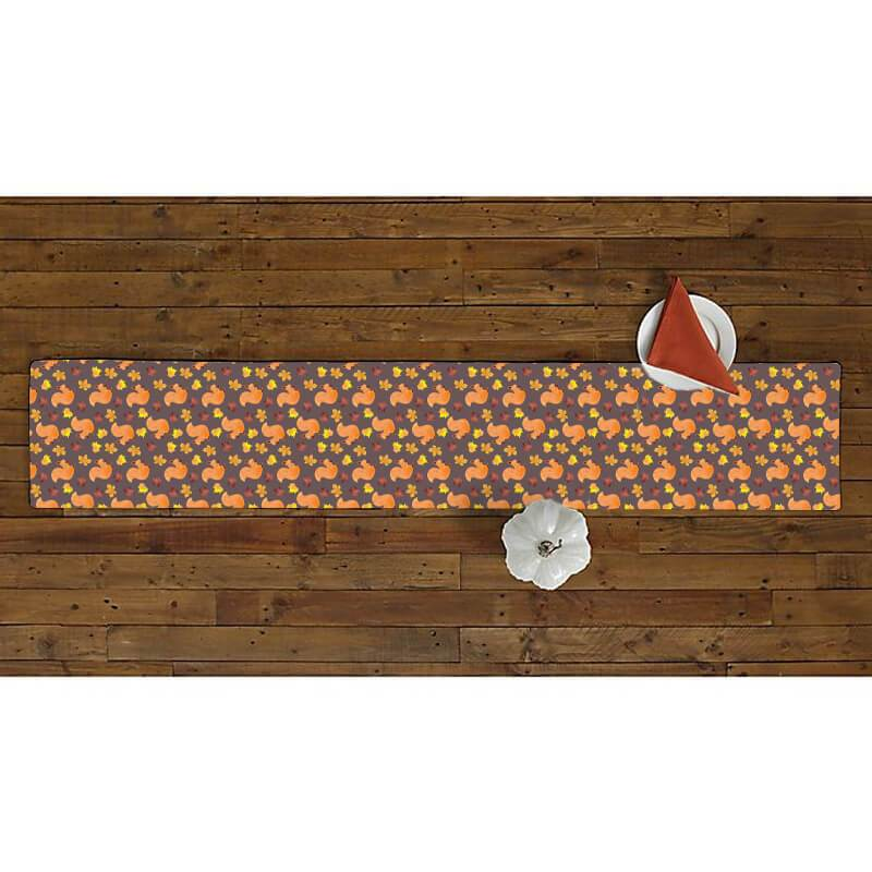 Thanksgiving Fall Table Runner - BlingPainting