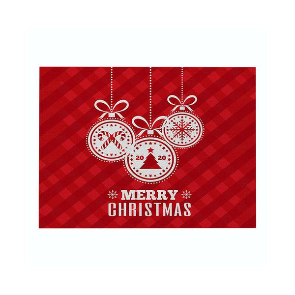 Christmas Decor Text Placemat