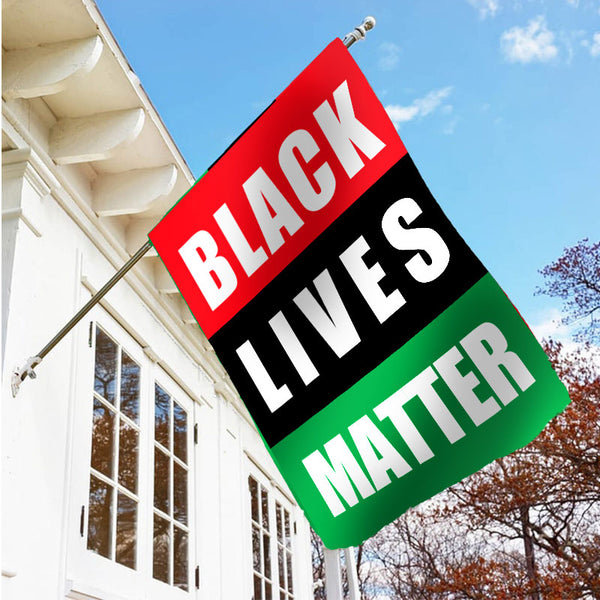 Black Lives Matter Garden Flag/House Flag C