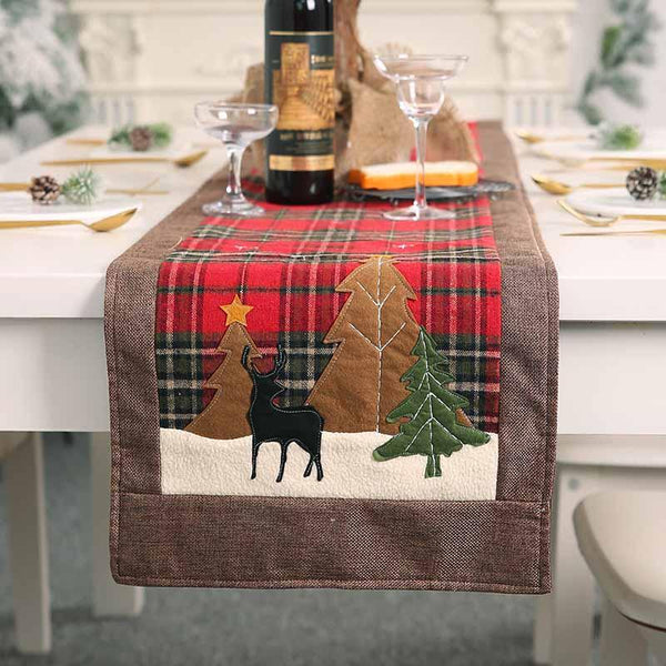 Christmas Reindeer Table Runner - BlingPainting
