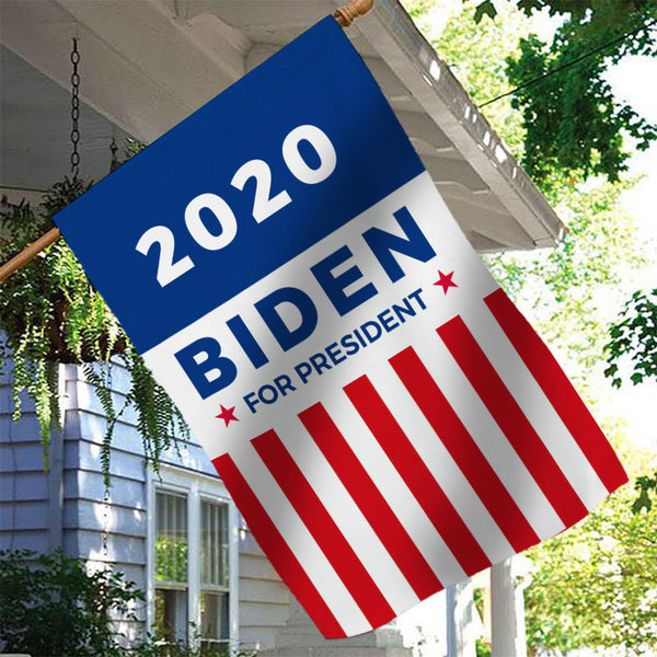 Joe Biden for President 2020 Garden Flag House Flag
