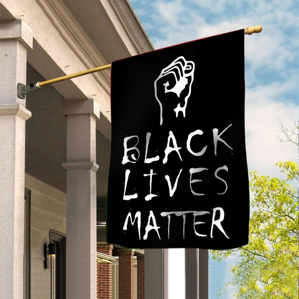 Black Lives Matter Garden Flag/House Flag B