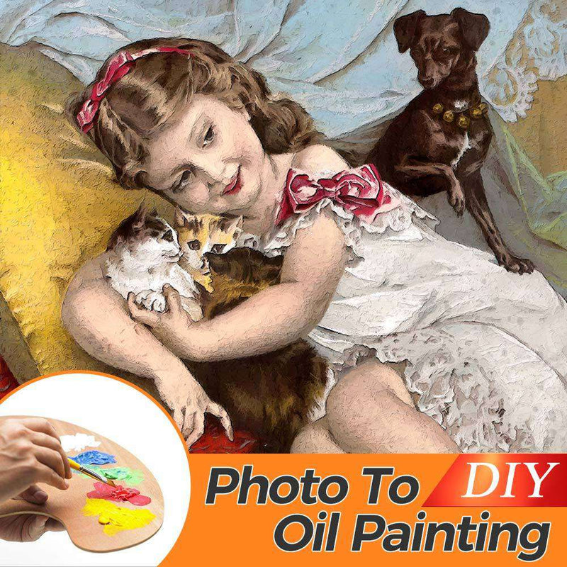 DIY Personalized Oil Painting For Your Honey - BlingPainting