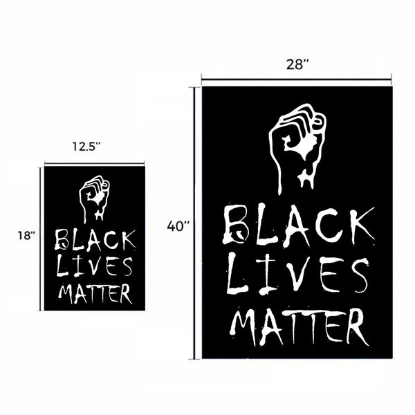 Black Lives Matter Garden Flag/House Flag