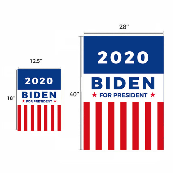 Ridin with Biden Garden Flag House Flag