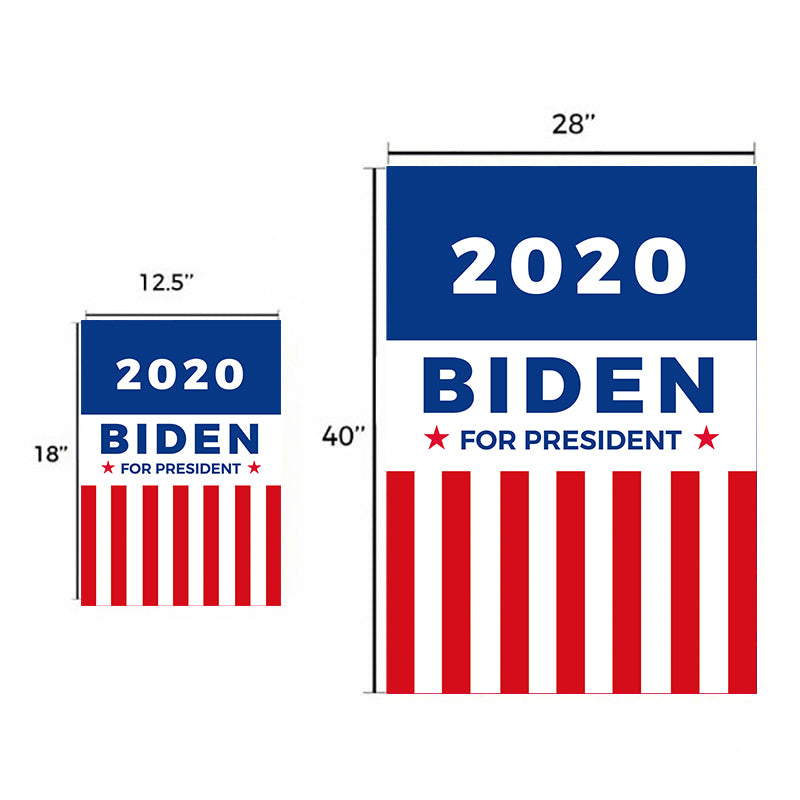 Joe Biden for President 2020 Garden Flag House Flag N