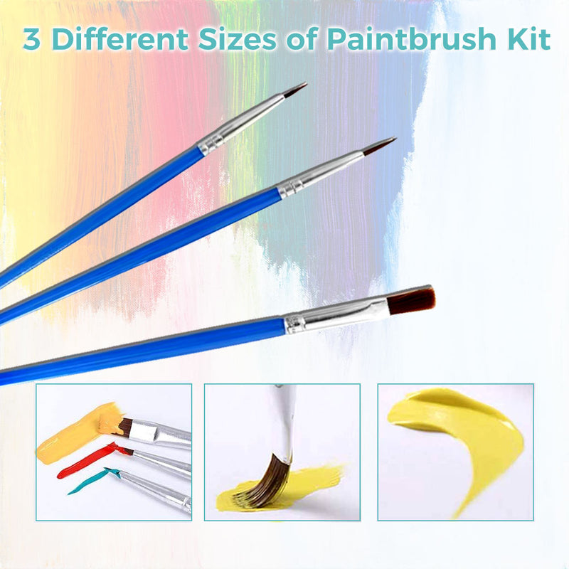 Paint by Numbers Kit -  Painted Zebra - BlingPainting
