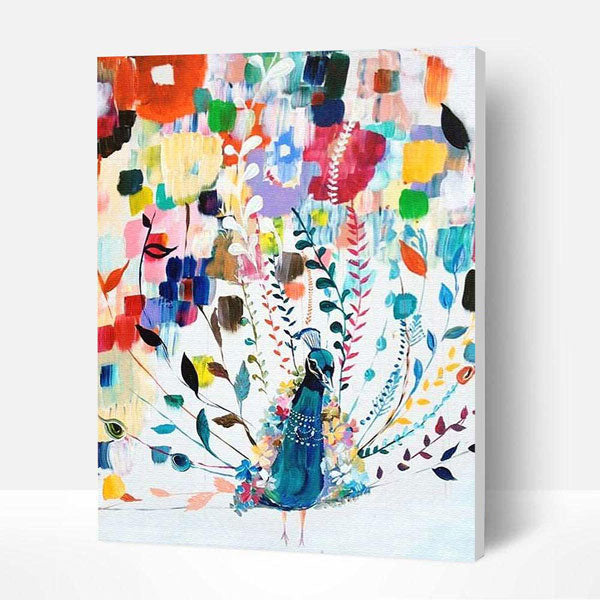 Paint by Number Kit - Celebrating Elephant - BlingPainting