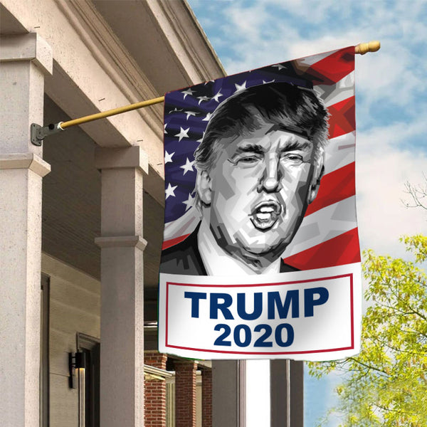 Donald Trump for President 2020 Garden Flag House Flag E