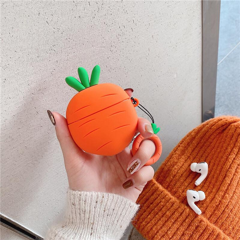 Carrot Design AirPods Case for AirPods 1&2/AirPods Pro - BlingPainting