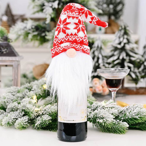 Gnome Wine Bottle Cover