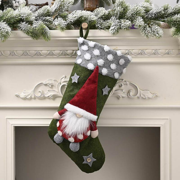 Christmas Decor Elf Stocking