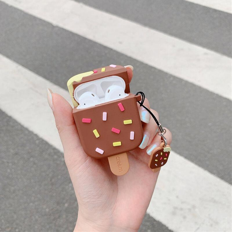 Ice Cream AirPods Case for AirPods 1&2 - BlingPainting