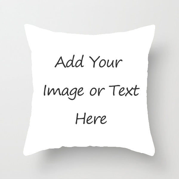 Personalized Throw Pillow with Photo