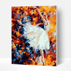 Paint by Numbers Kit - Ballet Girl - BlingPainting