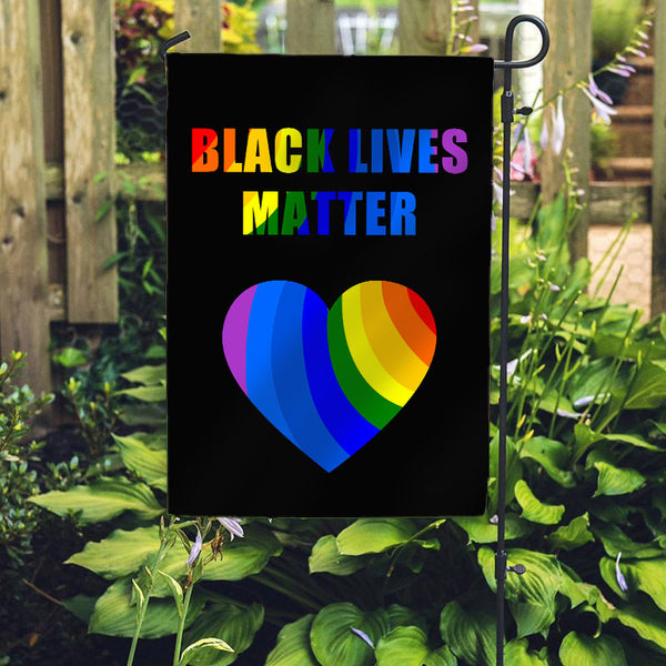 Black Lives Matter Garden Flag/House Flag F