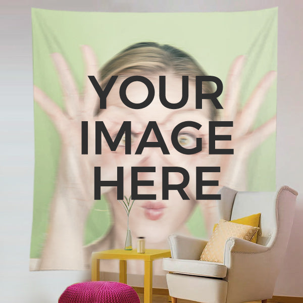 Custom Tapestry From Photo - Personalized Wall Tapestry Printing