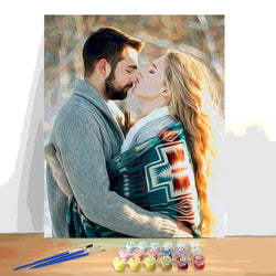 Paint by Numbers Kit - Customized Oil Painting For Your Love