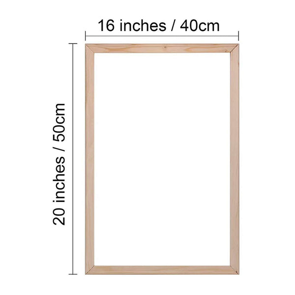 DIY wood frame kit for Paint by numbers - BlingPainting