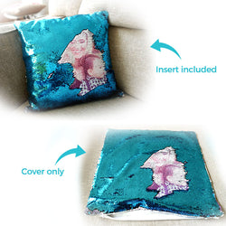 Custom Sequin Pillow Upgrade Plan