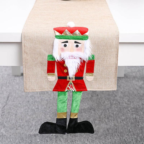 Christmas Nutcracker Table Runner - BlingPainting